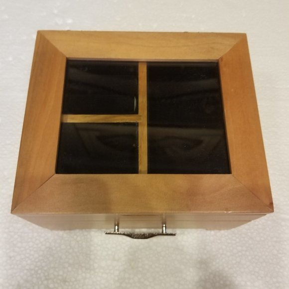Smaller Wooden Jewelry/Music Box